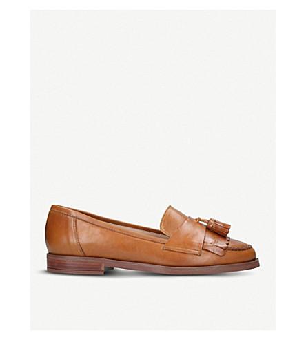 CARVELA Leona tassel leather loafers (Tan