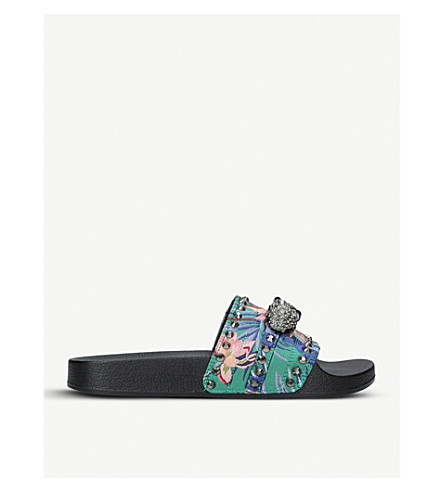 CARVELA Klaw embellished sliders (Mult/other