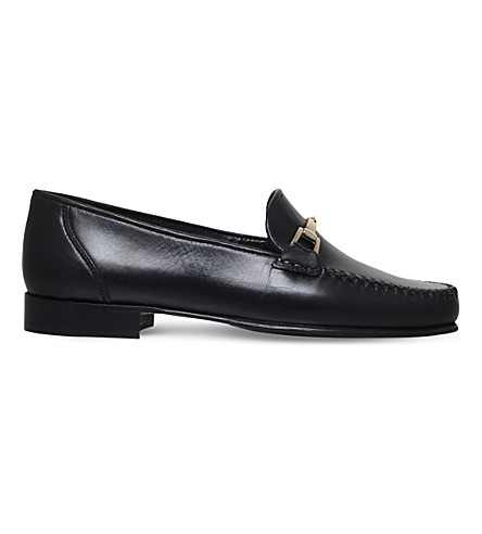 CARVELA Mariner leather loafers (Black