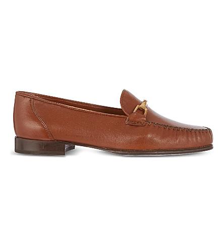 CARVELA 水手皮革乐福鞋 (棕褐色