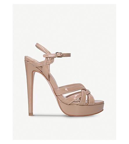 MISS KG Samia platform sandals (Nude