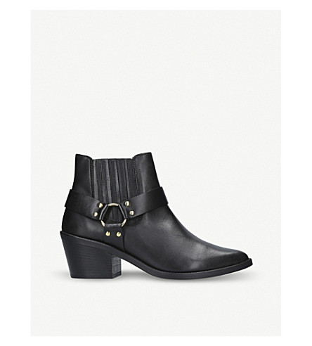CARVELA Sheriff leather boots (Black