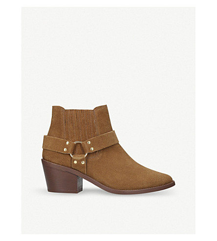 CARVELA Sheriff suede boots (Tan