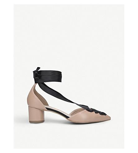 MISS KG April two-tone court shoes (Nude