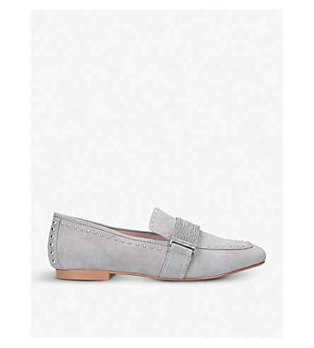 CARVELA Lulu suede loafers (Grey