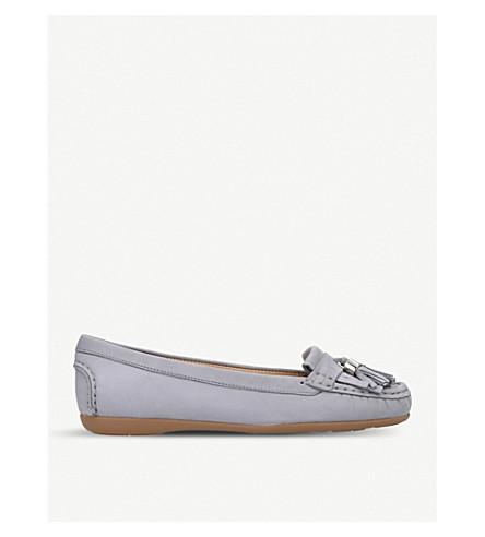 CARVELA COMFORT Chloe suede loafers (Grey