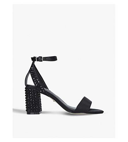 CARVELA Gianni 2 studded heeled courts (Black