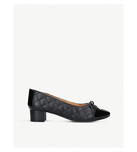 CARVELA COMFORT Alyssa leather courts (Black