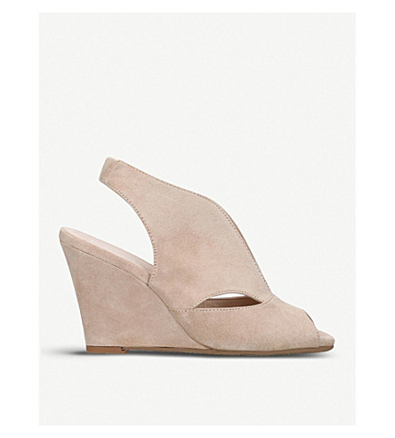 CARVELA COMFORT Alexa suede wedge sandals (Taupe