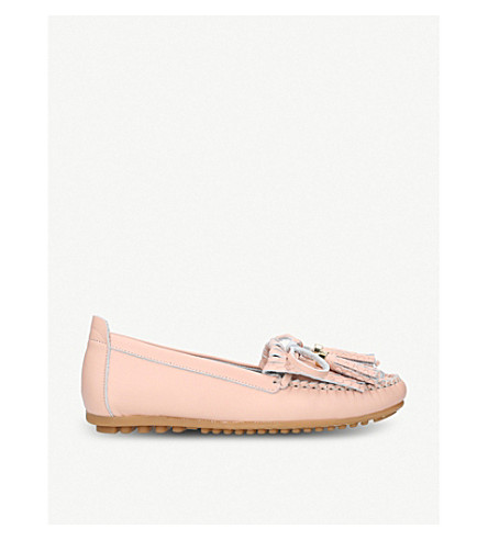 CARVELA COMFORT Cynthia leather loafers (Nude