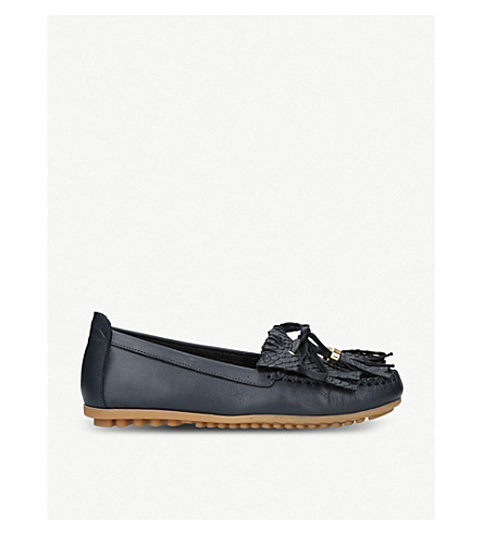 CARVELA COMFORT Cynthia leather loafers (Navy