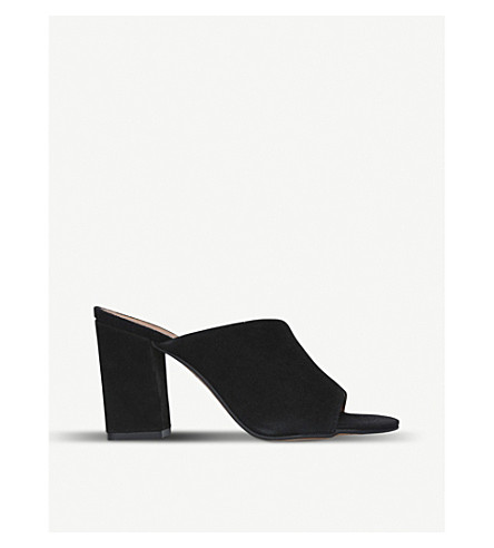CARVELA Grappa suede mules (Black