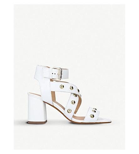 CARVELA Guy leather sandals (White