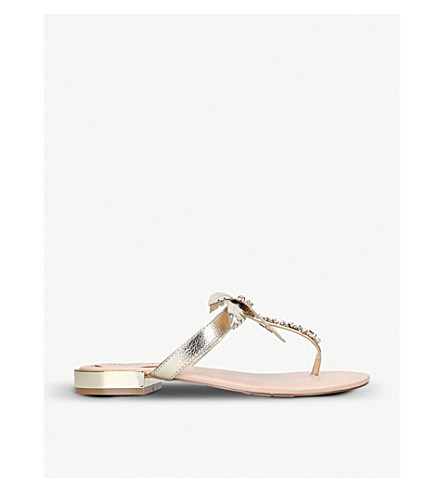 MISS KG Palma thong sandal (Gold