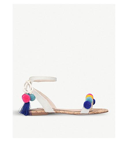 MISS KG Roxie woven sandals (Beige