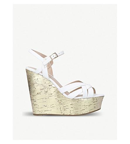 MISS KG Kabby high heel wedge sandal (White