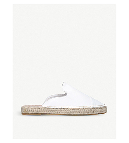 MISS KG Darby slip on espadrilles (White