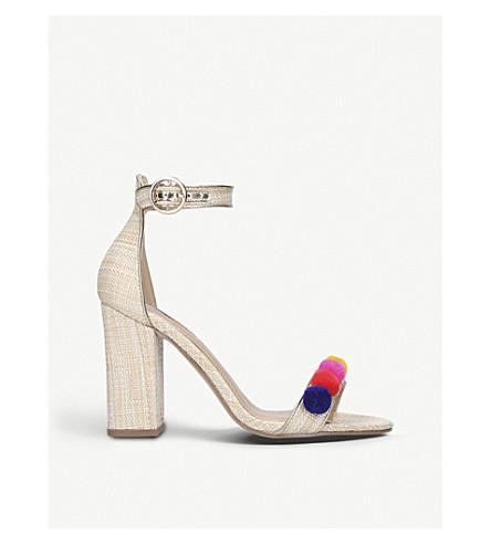 MISS KG Evelyn pompom heel sandals (Mult/other
