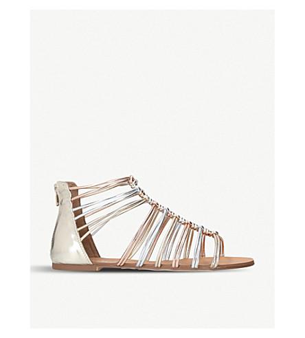 leather faux gladiator metallic comb MISS sandals KG Metal Robyn wqztwXI