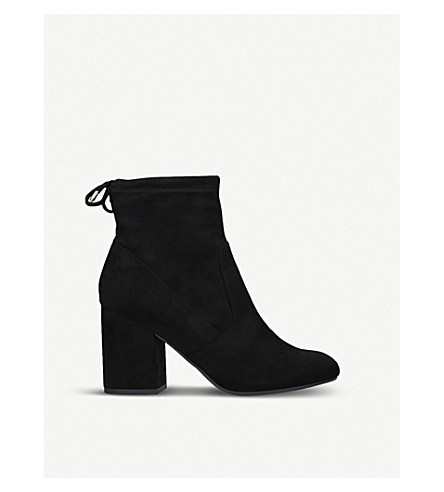 MISS KG Sully suedette ankle boots (Black