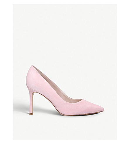 NINE WEST Emmala suede courts (Pink