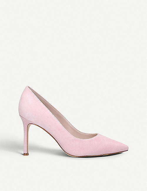 NINE WEST Emmala suede courts