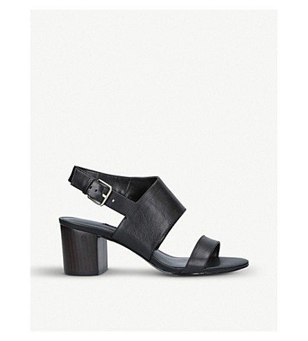NINE WEST Forli leather sandals (Black