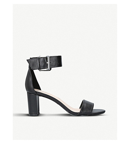 NINE WEST Playdown faux-leather sandals (Black