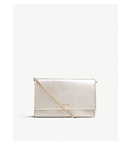 NINE WEST Anndi metallic shoulder bag (Gold