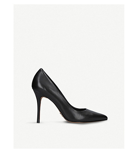 MICHAEL MICHAEL KORS Tiegan leather courts (Black