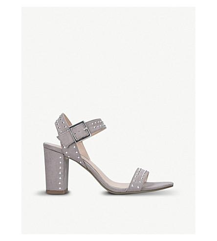 MISS KG Ella suede sandals (Grey