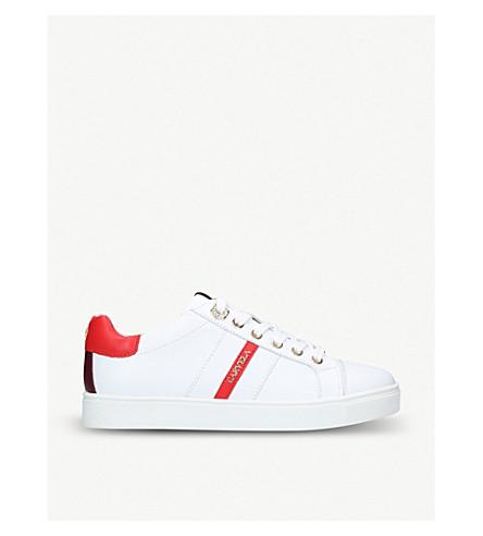 CARVELA Lisa leather trainers (White