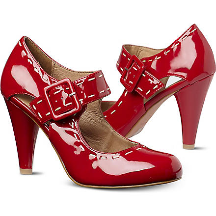 KG BY KURT GEIGER Aurora patent courts (Red