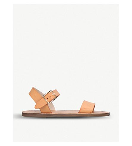 MISS KG Ruthie faux-leather sandals (Tan