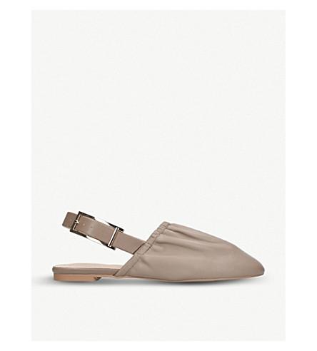 KG KURT GEIGER Michelle leather slingback loafers