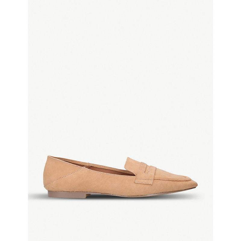 Madison suede loafers