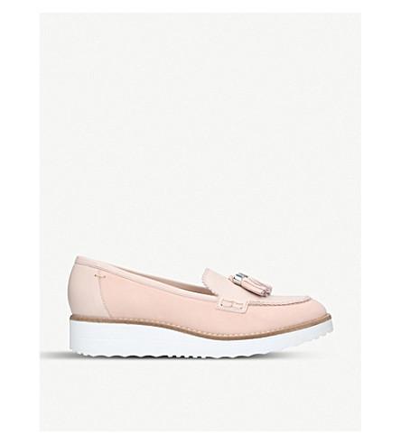 CARVELA Limbo leather flatform loafers (Nude