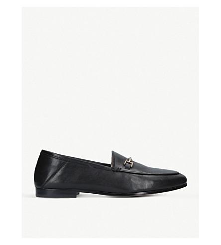SAM EDELMAN Loraine leather loafers (Black
