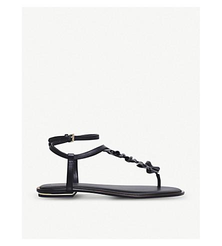 MICHAEL MICHAEL KORS Bella leather sandals (Black