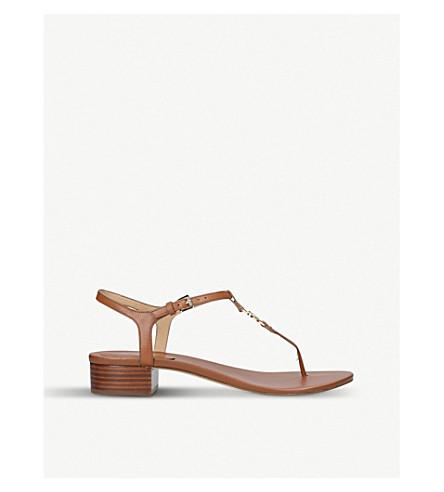 MICHAEL MICHAEL KORS Cayla leather sandals (Brown