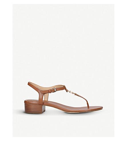MICHAEL MICHAEL KORS Cayla Mid leather sandals (Tan