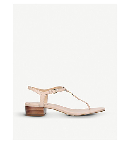 MICHAEL MICHAEL KORS Cayla Mid leather sandals (Beige