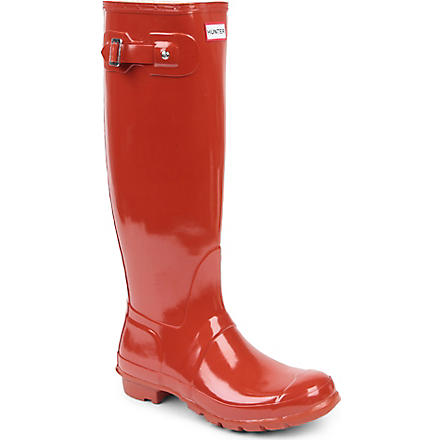 HUNTER Original Gloss wellies (Red/other