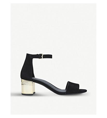 MICHAEL MICHAEL KORS Paloma Flex suede sandals (Black