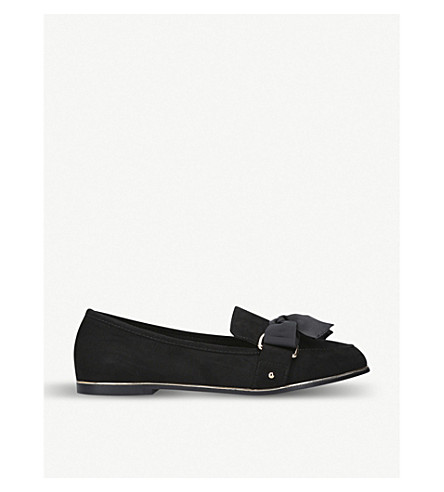 KG KURT GEIGER Mable suede loafers (Black