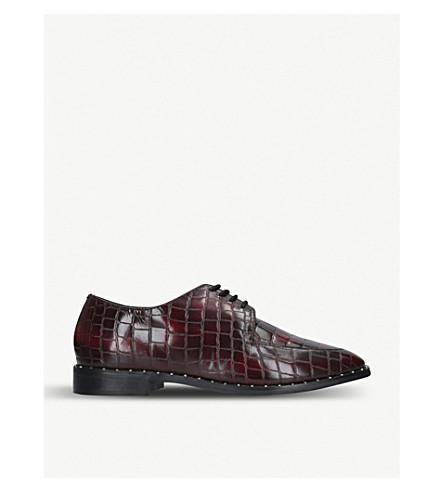 KG KURT GEIGER Mali leather loafers