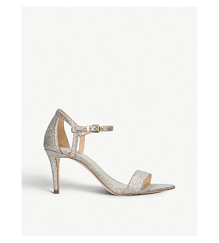 MICHAEL MICHAEL KORS Simone sequin sandals (Silver