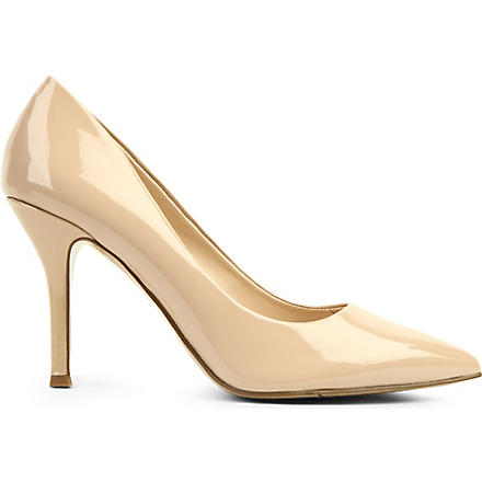 NINE WEST Flax patent courts (Nude