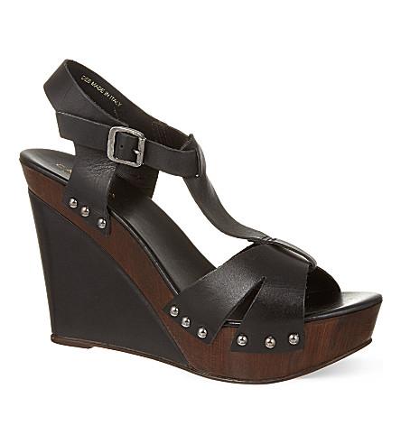 CARVELA Kate wedge sandals (Black