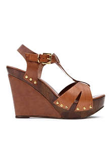 CARVELA Kate leather wedge sandals